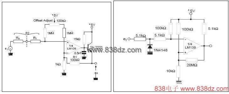 使用说明: LM393/339是高增益,宽频带器件,象大多数比较器一样,如果输出端到输入端有寄生电容而产生耦合,则很容易产生振荡.这种现象仅仅出现在当比较器改变状态时,输出电压过渡的间隙.电源加旁路滤波并不能解决这个问题,标准PC板的设计对减小输入—输出寄生电容耦合是有助的.