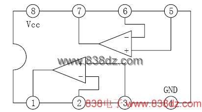 lm393 为双电压比较器