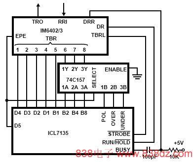 icl7135数字表芯片中文资料-icl7135接口电路-icl7135