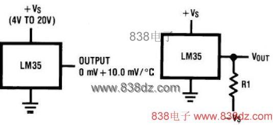 lm35温度传感器中文资料-lm35集成电路温度传感器原理