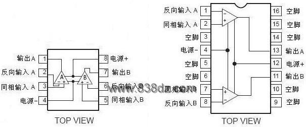 NE5532/SE5532/SA5532/NE5532A/SE5532A/SA5532A是一种双运放高性能低噪声运算放大器