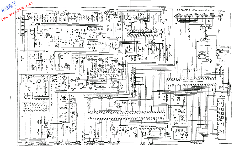 ADCOM爱琴GTP-550前置放大器电路图