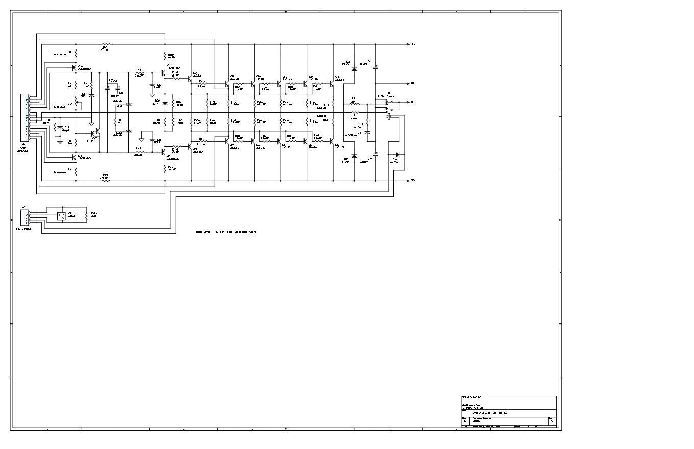 CRESTAUDIO高峰 PRO 3301功放电路图