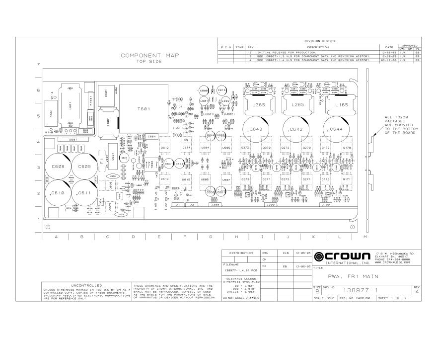 JBL PRX518S重低音音箱维修手册