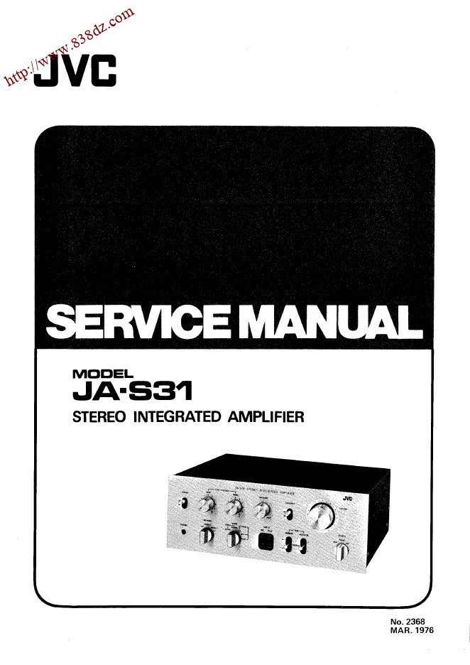 JVC JA-S31功放维修手册