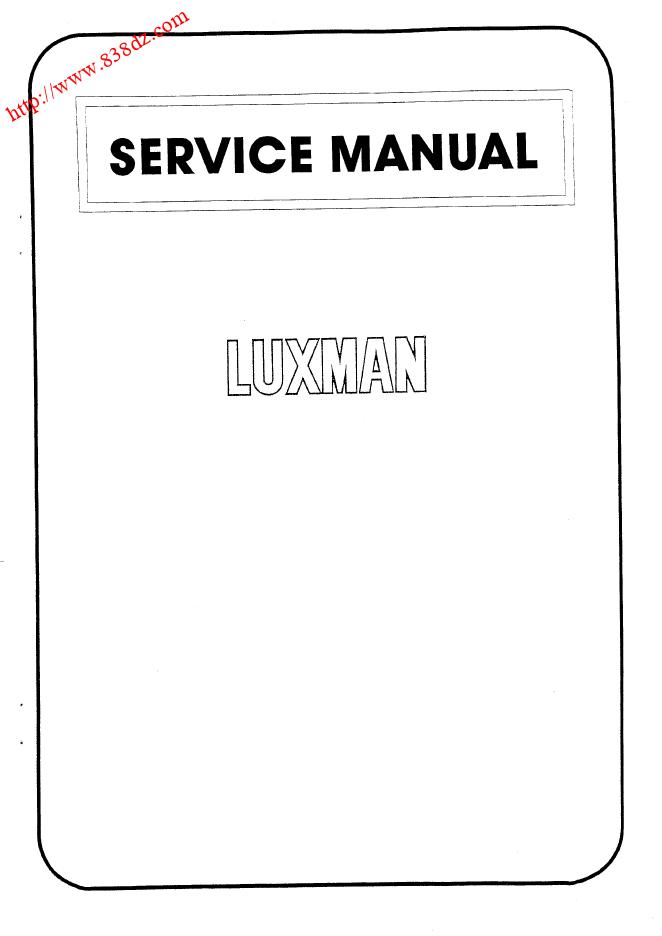 LUXMAN力士L-55A放大器维修电路图
