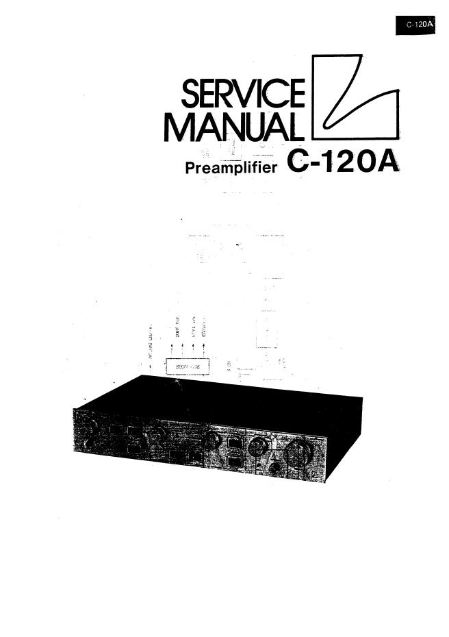 LUXMAN力士C-120A功放电路图