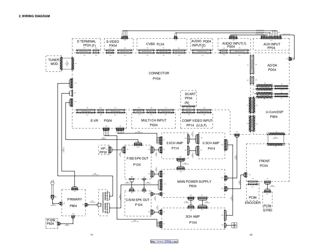 马兰士marantz SR8200 功放维修电路图