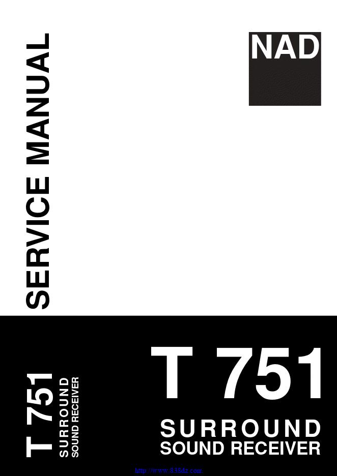 NAD T751功放电路图