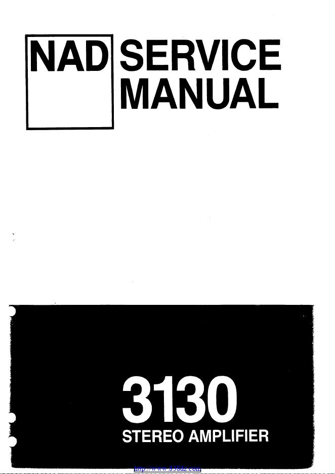 NAD 3130功放电路图