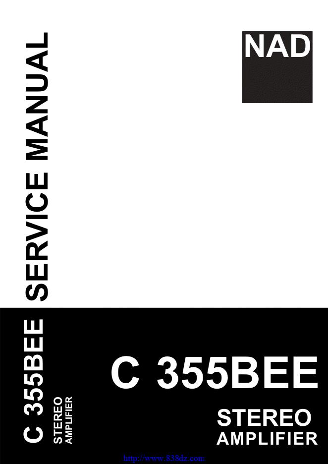NAD C355BEE功放维修手册
