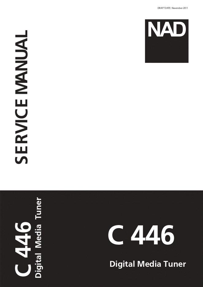 NAD  C466数字调谐器维修手册