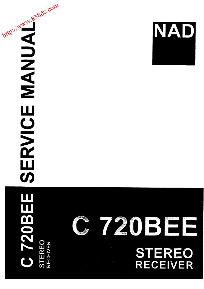 NAD C720BEE放维修手册