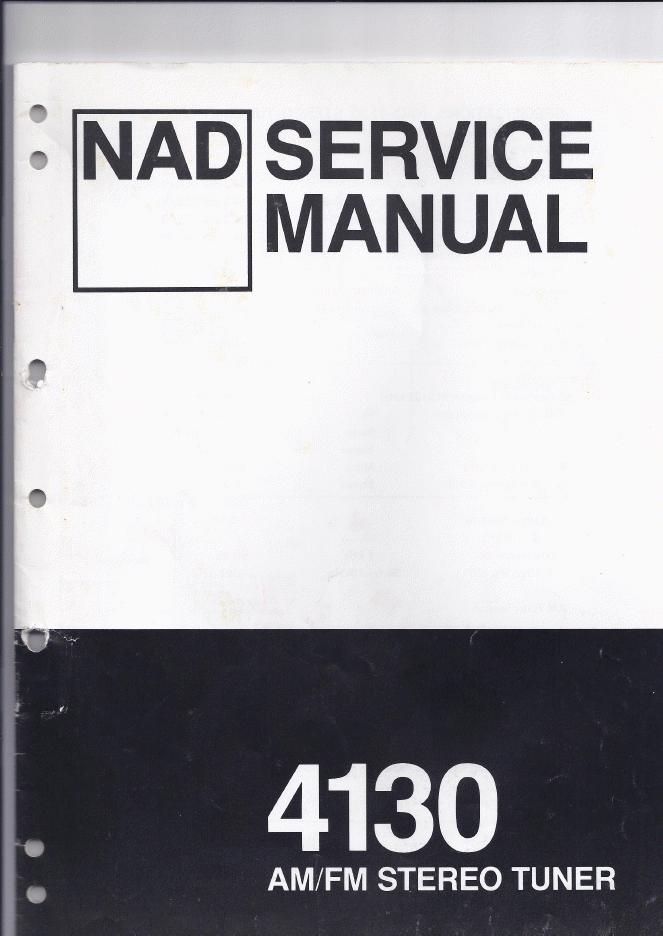 NAD 4130收音头维修手册