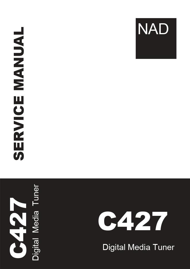 NAD C427数字媒体调谐器收音头维修手册C427