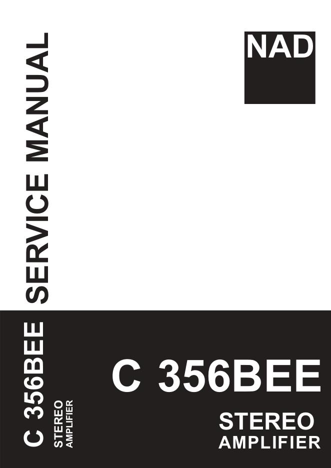 NAD C356BEE 功放维修手册