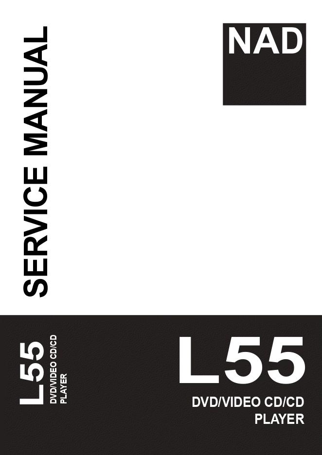 NAD L55 视频DVD CD播放器维修手册
