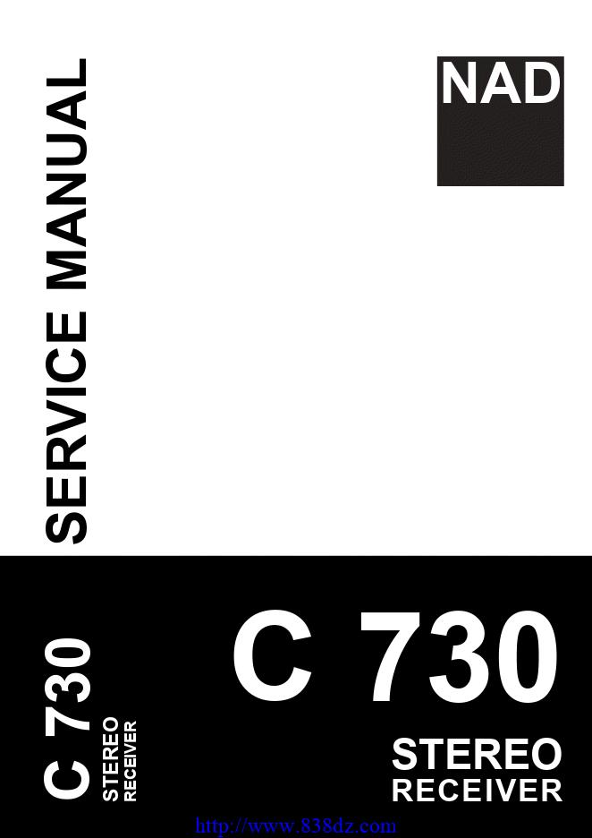 NAD C730功放维修手册