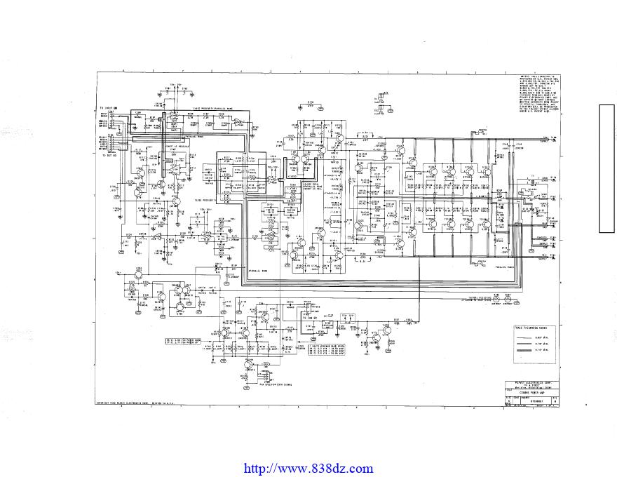 PEAVEY百威 CS800S功放维修电路图