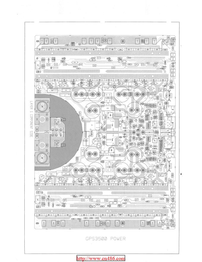 百威peavey GPS3500功放维修图纸