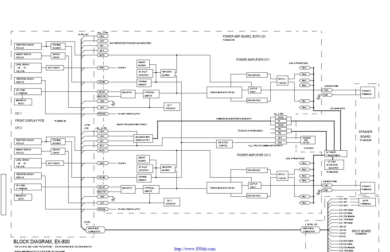 QSC EX 800功放电路图