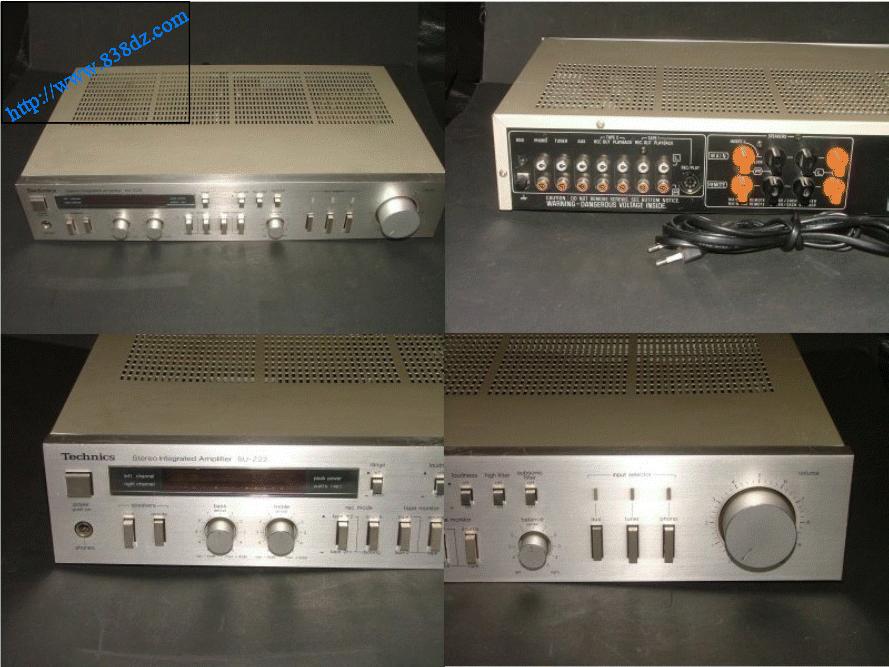 technics松下 SU-Z22音响功放电路图 维修手册