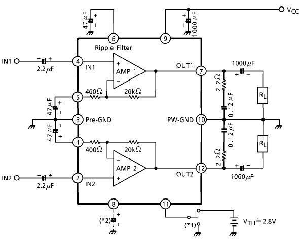 ta8216功放电路图纸