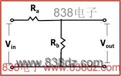 电阻分压器计算器