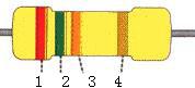 4色环电阻计算对照