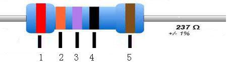 5色环电阻
