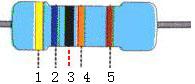 五色环电阻计算