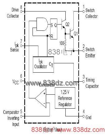 太阳能电池充电器电路图
