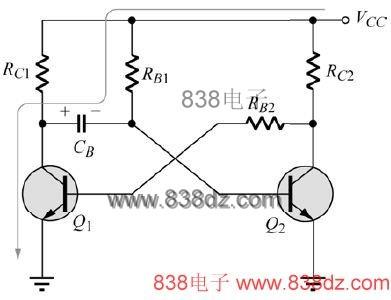 单稳态多谐振荡器电路-ne555多谐振荡器电路图-三