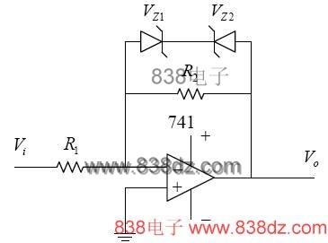 限幅放大器电路原理