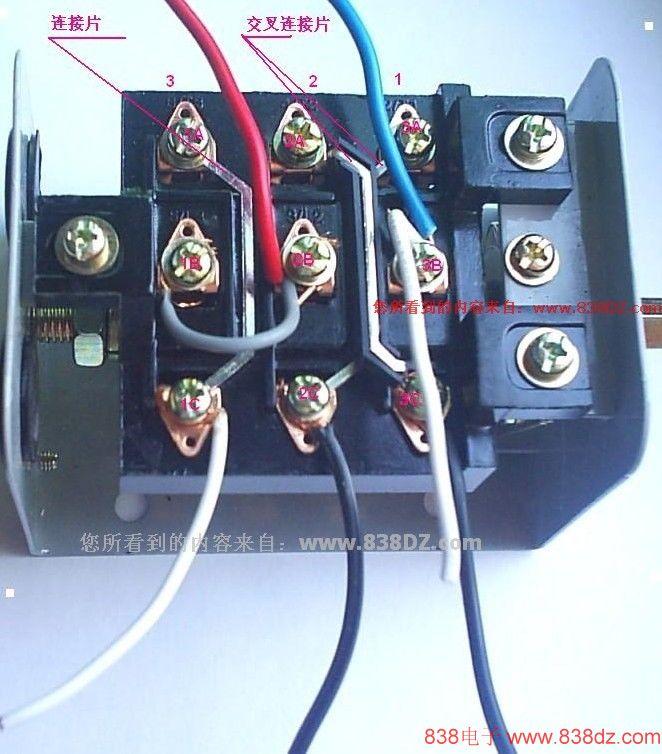 接线图-接法-电容的作用-单向电机正反转控制-电动机