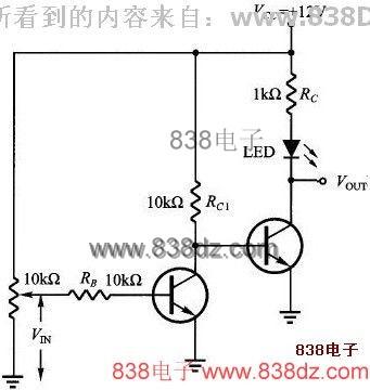 简单开关三极管电路图&nbsp