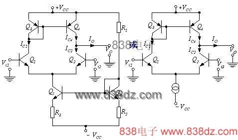 差动放大器简介-作用-差分动放大器原理-电路图-使用