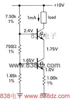 恒流源电路工作原理-什么是直流三极管恒流源?