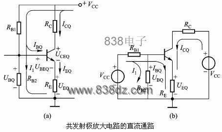 三极管放大电路分析计算-晶体管放npn
